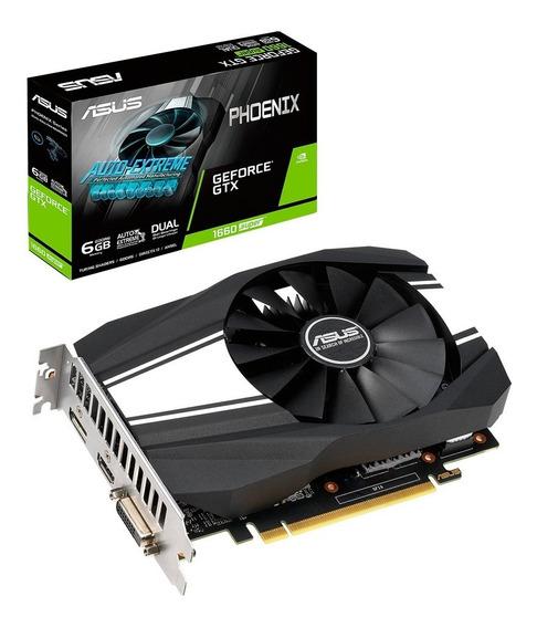 Placa Video Geforce Gtx 1660 6gb Asus Super Oc 1