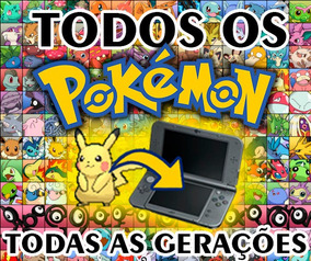 Pokemon - Pokedex Completa - 800+ Pokes - Sm/usum/oras/xy