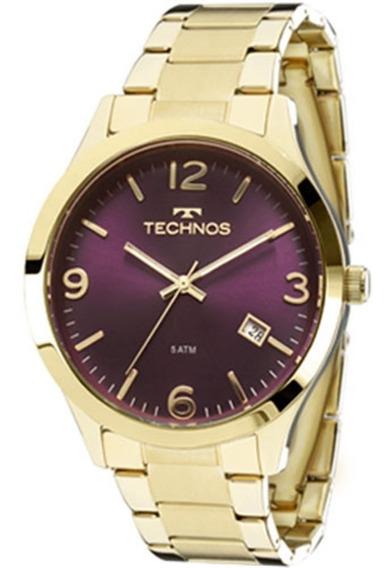 Relógio Technos Feminino Dress 2315acd/4c Elegance Fretegrát