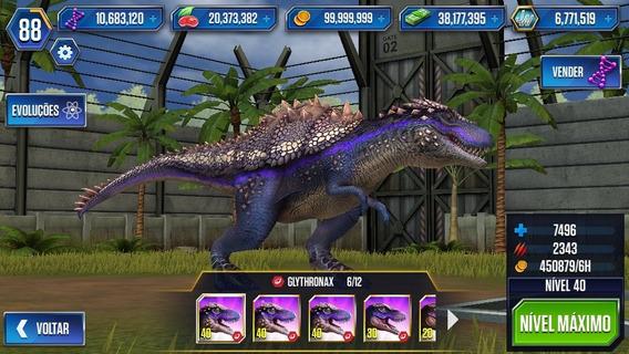 Jurassic World - O Jogo (mobile) De 70mil Por 50