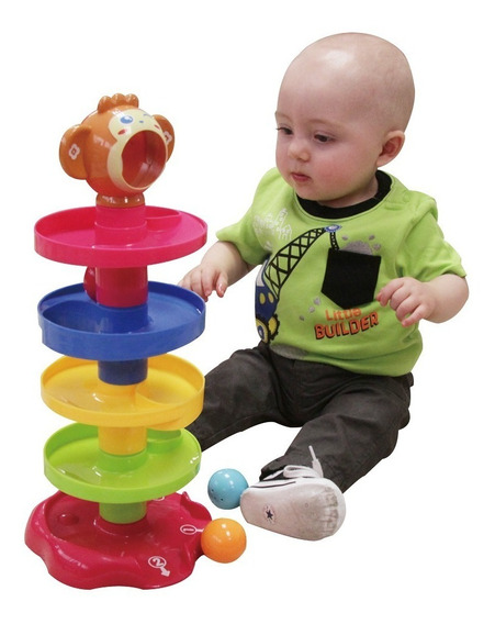 Tobogán De Juguete Con Pelotas Para Bebé