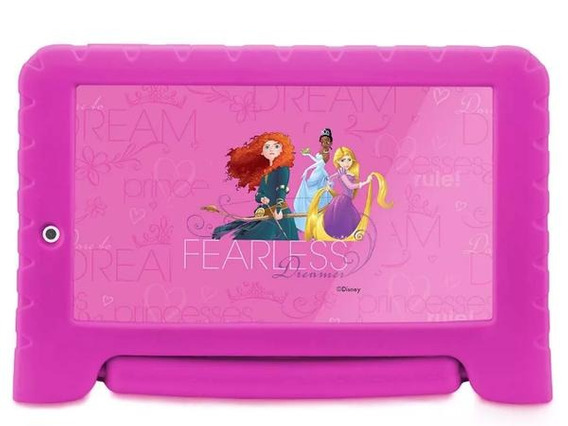 Tablet 7 Multilaser Disney Princesa, 8gb, Wi-fi, Quad Core,