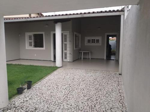 Casa Com 3 Dormitórios À Venda, 118 M² Por R$ 550.000,00 - Cidade Dos Funcionários - Fortaleza/ce - Ca0302