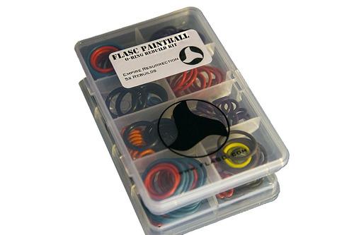 Empire Resurrection 5x Color Paintball O Ring Kit De Reco...