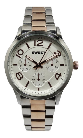 Reloj Sweet Boston Rose White Mujer Garantia Tienda Oficial