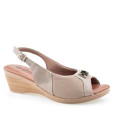 d7bfcf008d Sandalia Salto Rolha Feminino Anabela Schutz - Sapatos no Mercado ...