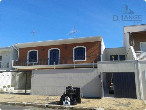 Casa À Venda, 293 M² Por R$ 790.000,00 - Vila Nogueira - Campinas/sp - Ca8523