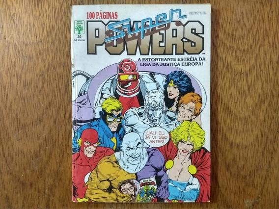 Hq,super Power Nº 20 - Formatinho - Abril