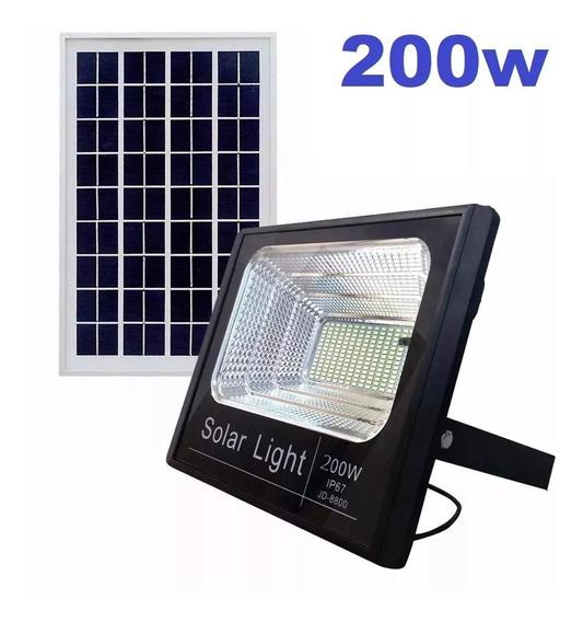 Novo Refletor Holofote Ultra Led Solar 200w Ip67