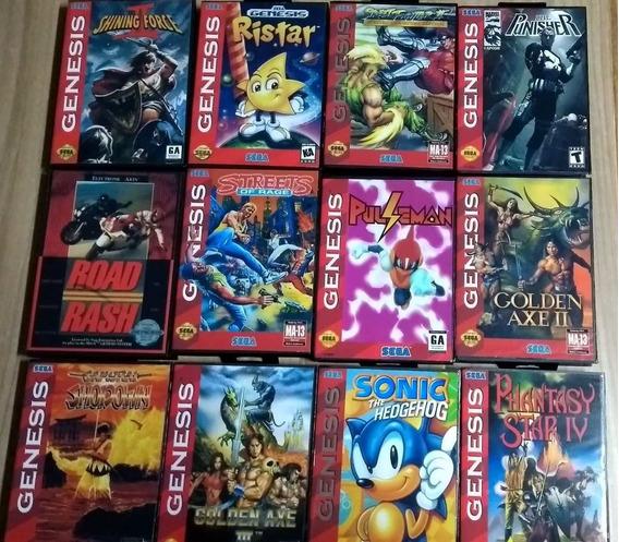 Cartuchos Mega Drive Streets Of Rage Sonic Valor Unitario