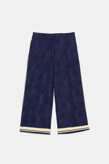 Pantalon Z.a.r.a. Culotte Brocatto