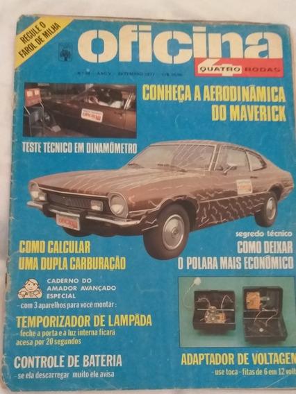 Revista Oficina 4 Rodas N°34 1977 Aerodinâmica Do Macerick