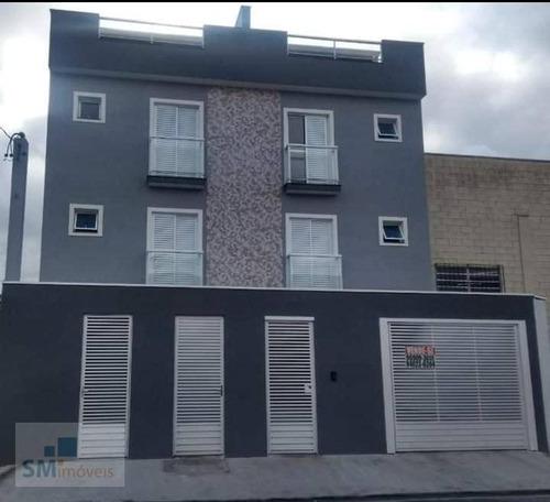 Apartamento Com 2 Dormitórios À Venda, 50 M² Por R$ 250.000,00 - Jardim Ocara - Santo André/sp - Ap2498