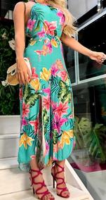 ac3da1613 Macacao Pantacourt Floral - Macacão para Feminino no Mercado Livre ...