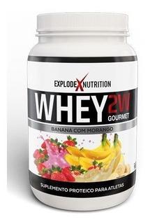 Whey Protein 2w Gourmet Ganho De Massa 900g