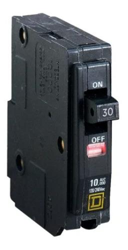 Imagen 1 de 7 de Pastilla Interruptor Termomagnético Qo130 1 Polo 30a 120/240