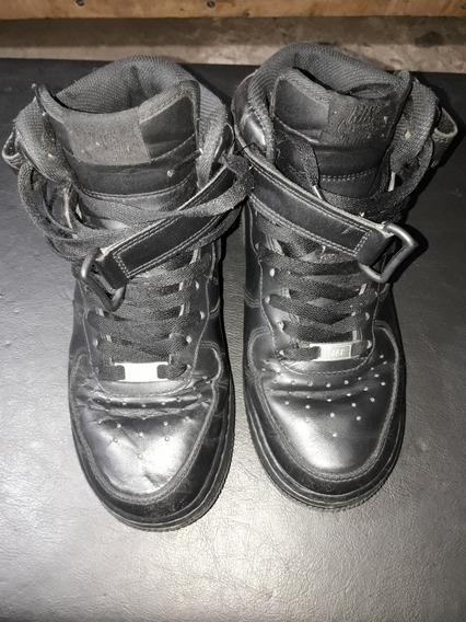 Air Force 1 Mid Black Edition Talle39
