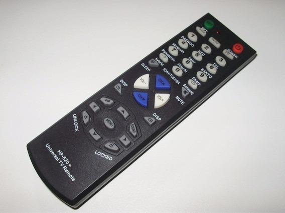 Controle Remoto Tv Universal Hp-620 Várias Marcas