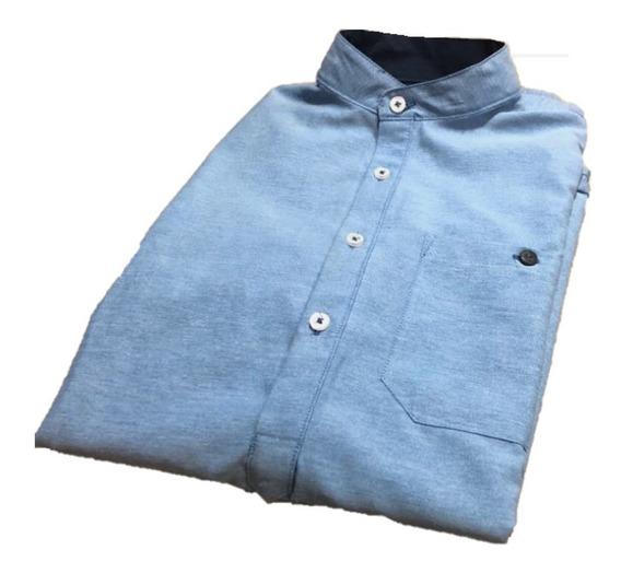 Oferta Camisa Cuello Mao Corte Tipo Playera Varios Colores
