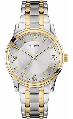 Imagen 1 de 10 de Reloj Bulova  98a150 Quartz Hombre Acero *watchsalas*