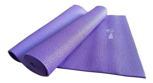 Colchoneta Mat Yoga 6 Mm Pilates Enrollable Matt Importado Pvc Fitness Sport Gym