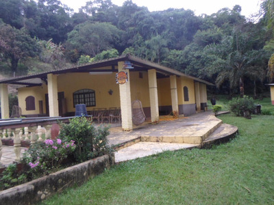Mairinque- Lindo Sítio Com Piscina E Lago Ref: 04059