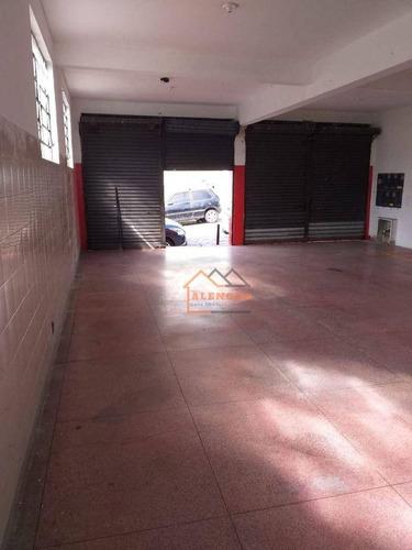 Imagem 1 de 6 de Salão Para Alugar, 160 M² Por R$ 2.100,00/mês - Vila Buenos Aires - São Paulo/sp - Sl0012
