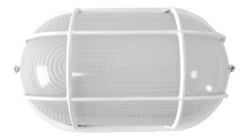 Imagen 1 de 6 de Tortuga Con Protección Color Blanco, Rosca E27/100w - Ai0320