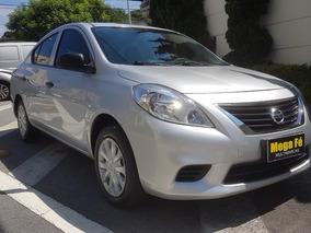 Nissan Versa 1.6 S 16v Flex 2013 Prata Completo