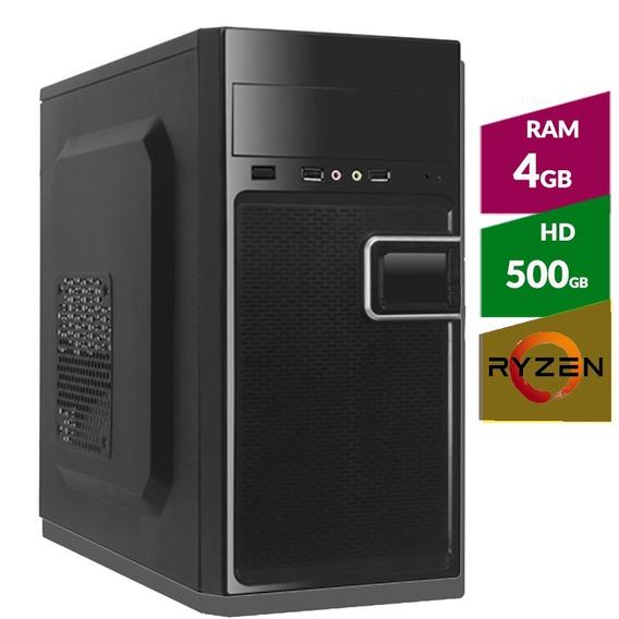 Pc Amd Ryzen 5 2400g + Hd 500gb + 4 Gb Ddr4 2400mhz
