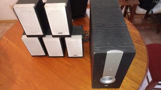 Home Theater Sistema De Sonido 5.1 Con Parlantes Y Dvd