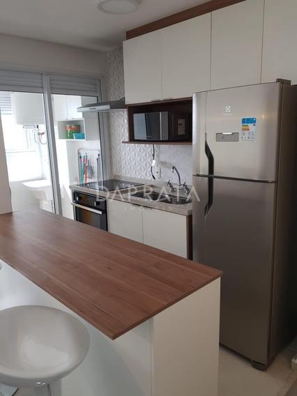 Lindo Apto 50m, Mobiliado, 1 Dormitório, Novare Alphaville - Apu00318