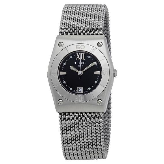 Reloj Tissot T-win Black Mother Of Pearl Mujer T08118753