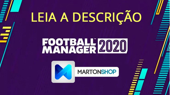 Football Manager 2020 Original Gift