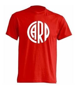 Camiseta Infantil River Plate Estampada