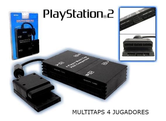 Multitap Playstation 2 Juega Con 4 Amigos Nuevos En Blister