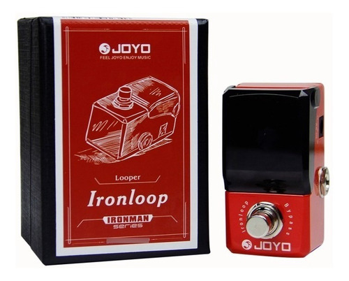 Imagen 1 de 2 de Joyo Jf329 Looper Pedal Loop 20 Minutos True By Pass