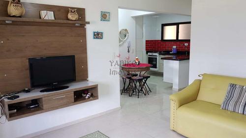 Apartamento Com 02 Dormitórios, 01 Vaga, 01 Quadra Da Praia. - V654