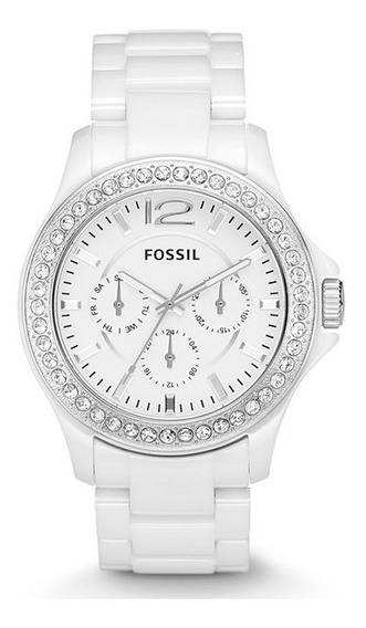 Reloj Fossil Ce1010 Para Mujer Cerámica