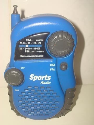 Rádio Portatatil Am - Fm Marca Spots - Funcionando.