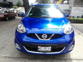 Nissan March 1.6 Advance 2016 Std, Garantizado Por 3 Años!