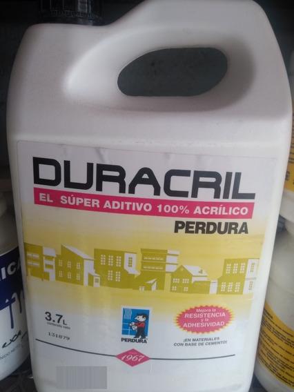 Duracril 3.7 Lt Aditivo Acrilico Para Cemento Y Mezclas