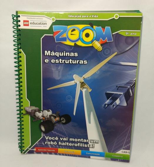 Livro Educação Para A Vida Zoom Máquinas Estruturas 9º Ano