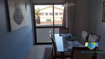 Apartamento Residencial Para Locação, Centro, Itanhaém. - Ap0068