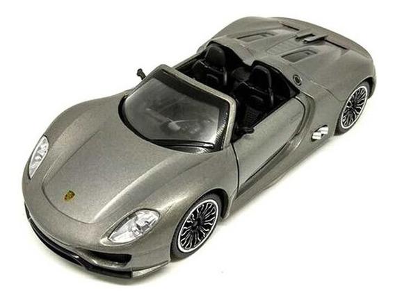Porsche 918 Spyder Msz Auto De Colección Metal 1:32