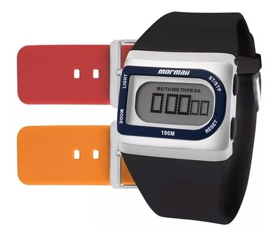 Relógio Mormaii Unissex Troca Pulseiras Fzg/t8e