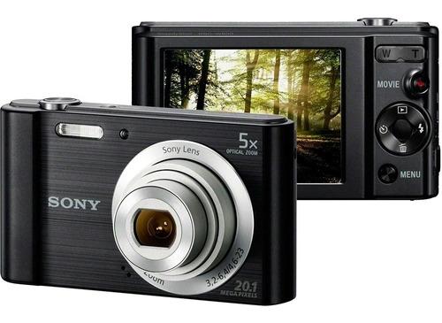 Câmera Digital Sony W800 20.1mp 5x Zoom Óptico 29mb  Org.