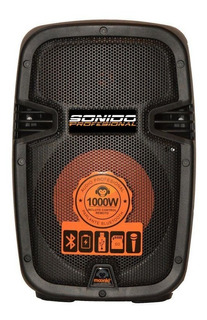 Parlante Bluetooth Moonki Sound Ms-ledb1000bt - 1000w