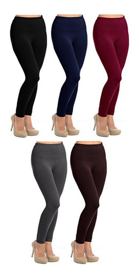Ropa Invierno Termica Leggins Pantalon Mujer Fleece Frio