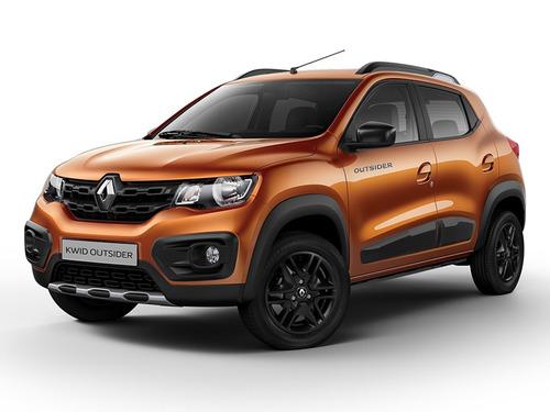 Renault Kwid 1.0 Outsider Naranja 0km 2021 Contado Financia